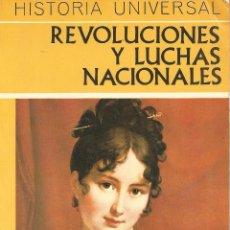 Libros de segunda mano: REVOLUCIONES Y LUCHAS NACIONALES. Lote 50783991