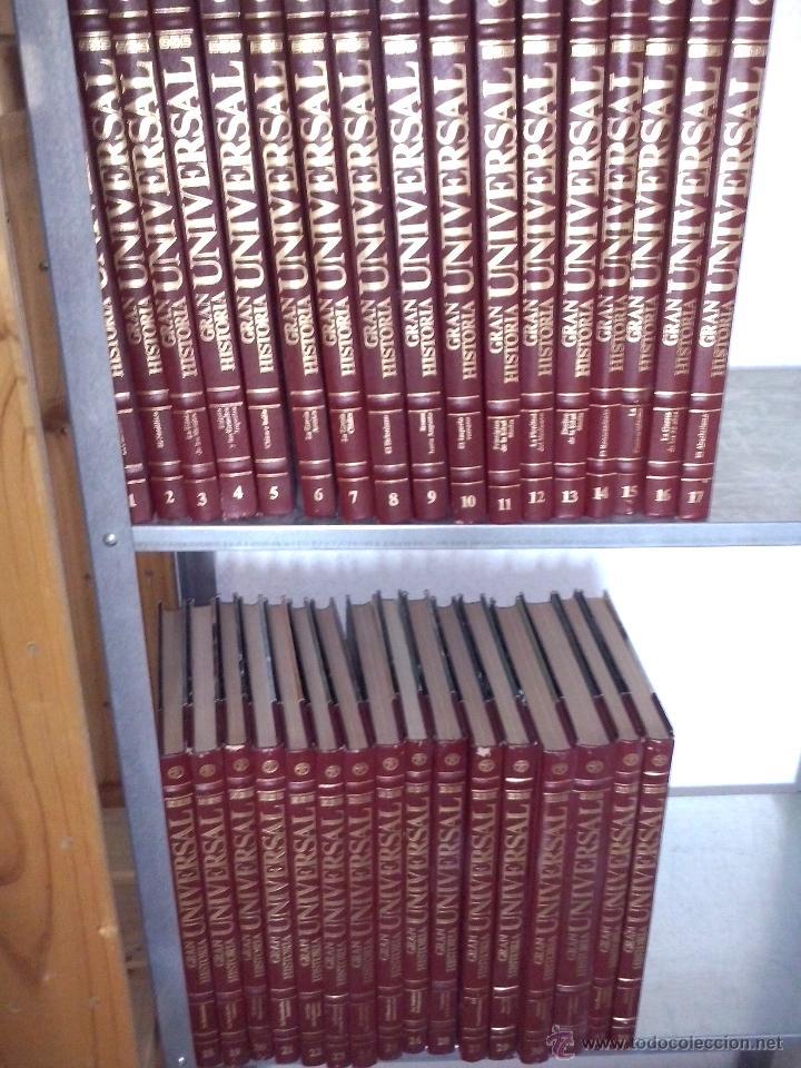 GRAN HISTORIA UNIVERSAL COMPLETA 33 TOMOS. ENCICLOPEDIA CLUB INTERNACIONAL DEL LIBRO. (Libros de Segunda Mano - Historia Moderna)