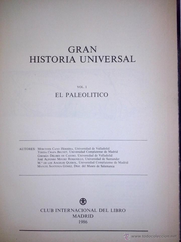 Libros de segunda mano: Gran Historia Universal COMPLETA 33 tomos. Enciclopedia Club Internacional del Libro. - Foto 2 - 51006493