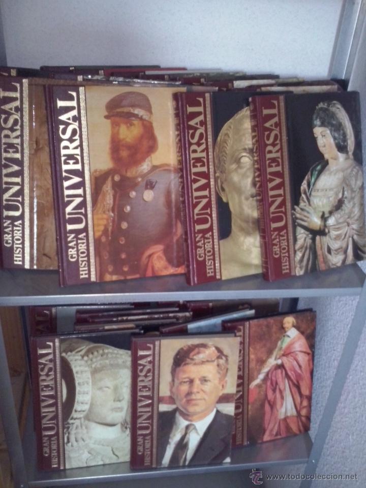 Libros de segunda mano: Gran Historia Universal COMPLETA 33 tomos. Enciclopedia Club Internacional del Libro. - Foto 4 - 51006493