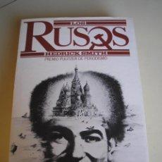 Libros de segunda mano: LOS RUSOS - PREMIO PULITZER DE PERIODISMO. Lote 51495918