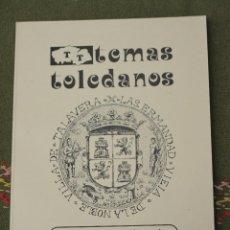 Libros de segunda mano: ROBOS PERSEGUIDOS POR LA HERMANDAD DE TALAVERA - IPIET -TOLEDO 1981.. Lote 51889925