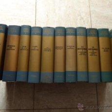 Libros de segunda mano: EPISODIOS NACIONALES CONTEMPORANEOS. PLANETA, 1963. 11 VOLS.. Lote 52879645