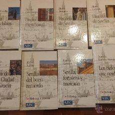 Libros de segunda mano: BIBLIOTECA HISPALENSE, 8 LIBROS, PRÁCTICAMENTE COMO NUEVOS. Lote 53580004