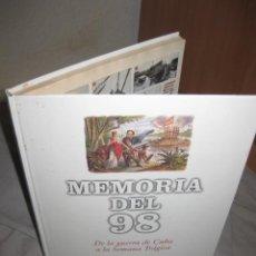 Libros de segunda mano: MEMORIA DEL 98 EL PAIS CUBA PNV CATALANISMO SEMANA TRÁGICA..600 IMÁGENES, OFERTA. Lote 54147828