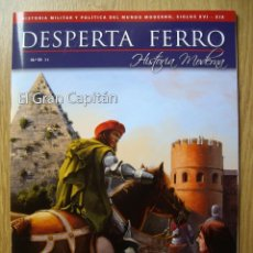 Libros de segunda mano: DESPERTA FERRO. HISTORIA MODERNA. Nº 19. EL GRAN CAPITAN. Lote 55887238