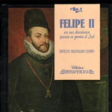 Libros de segunda mano: FELIPE II - ERNESTO BELENGUER CEBRIA - ILUSTRADO *. Lote 54340580