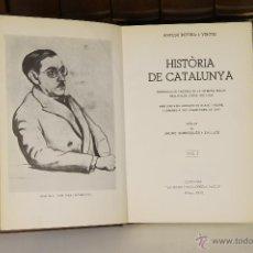 Libros de segunda mano: 6971 - HISTÒRIA DE CATALUNYA,16 VOL.(VER DESCRIP). A. ROVIRA. EDI. ENCICLOPEDIA VASCA. 1972/1984.. Lote 52292668