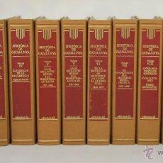 Libros de segunda mano: 5056 - HISTÒRIA DE CATALUNYA.12 VOLUM. VV. AA.(VER DESCRIP). EDIT. 62. 1987-2004.. Lote 51421409