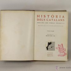 Libros de segunda mano: 6872 - HISTÒRIA DELS CATALANS 1,2,3 Y 5 VOL.(VER DESCRIP.) FERRAN SOLDEVILA. EDIC. ARIEL.1961.. Lote 51300729