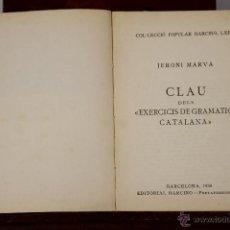 Libros de segunda mano: LP-137 - COL-LECCIÓ POPULAR BARCINO. 28 EJEM.(VER DESCRIP). VV. AA. EDIT. BARCINO. 1925/1963.. Lote 50149851