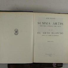 Libros de segunda mano: 5610- SUMMA ARTIS. HISTORIA GENERAL DEL ARTE. JOSE PIJOAN. EDIT. ESPASA. 1973/ 1984. 27 VOL.. Lote 46130403