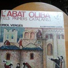 Libros de segunda mano: ABAD OLIVA ELS PRIMERS CATALANS. Lote 53577244