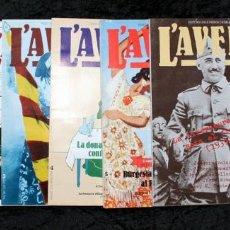 Libros de segunda mano: L´AVENÇ - 8 NÚMEROS - Nº 0 AL 8 - REVISTA HISTORIA CATALUNYA -. Lote 55763780
