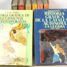 Libros de segunda mano: 7449 - EDICIONS 62. 8 VOLUM(VER DESCRIP). VV. AA. 1973-1978.. Lote 56392155