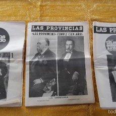Libros de segunda mano: LAS PROVINCIAS,1866-1966 ESPECIAL CENTENARIO.. Lote 56937125