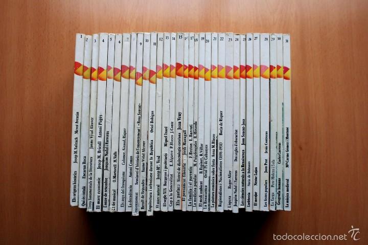 Libros de segunda mano: Colección Coneixer Catalunya - Completa - 31 libros - En catalan - Dopesa - Foto 2 - 57122332
