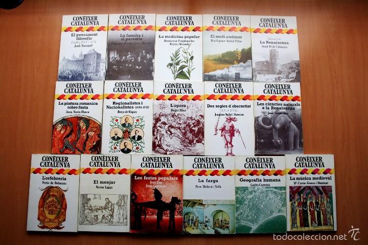Libros de segunda mano: Colección Coneixer Catalunya - Completa - 31 libros - En catalan - Dopesa - Foto 4 - 57122332