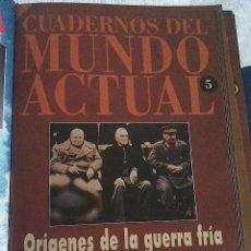 Libros de segunda mano: CUADERNOS DEL MUNDO ACTUAL HISTORIA 16. N 5 ORIGENES DE LA GUERRA FRIA. Lote 57194751