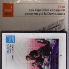 Libros de segunda mano: EL CAMINO DE LA LIBERTAD. 1978 LOS ESPAÑOLES CONSIGUEN PONER EN PIE LA DEMOCRACIA. LIBRO+DVD PRECINT. Lote 57225146