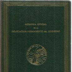 Libros de segunda mano: LAS INUNDACIONES DE VALENCIA DE 1967. MEMORIA OFICIAL DE LA DELEGACIÓN PERMANENTE DEL GOBIERNO.1962. Lote 57225280