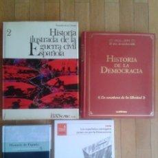 Libros de segunda mano: LOTE DE LIBROS (4) DE HISTORIA DE ESPAÑA. Lote 57591644