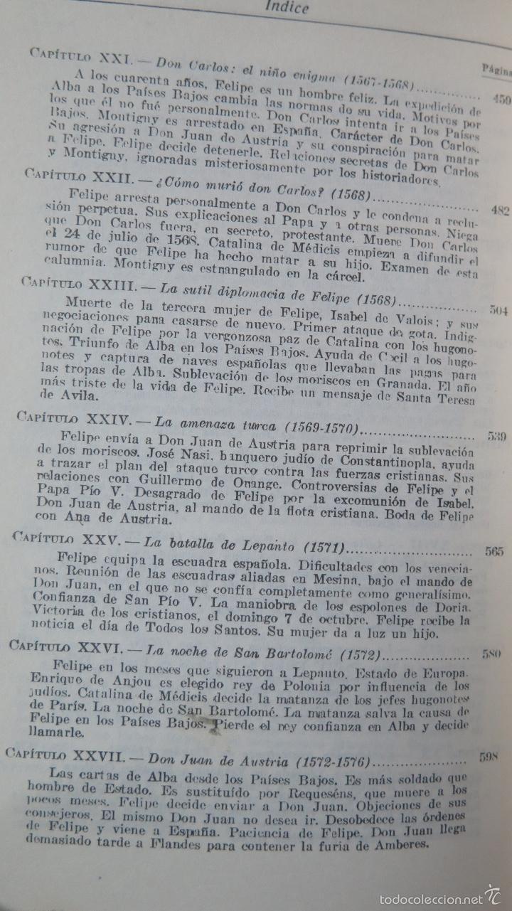 Libros de segunda mano: FELIPE II. WILLIAM THOMAS WALSH - Foto 8 - 57606284