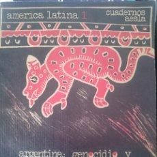 Libros de segunda mano: ARGENTINA GENOCIDIO Y RESISTENCIA --REFM1E2. Lote 57929724