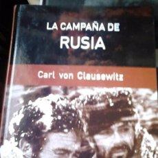 Libros de segunda mano: LA CAMPAÑA DE RUSIA. CLAUSEWITZ. Lote 57970852