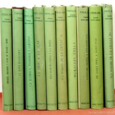 Libros de segunda mano: 7804 - VISIONS BARCELONINES 1760-1860. 10 VOLUM(VER DESCRIP). EDI. D. I JOVER. 1952/58.. Lote 58113792