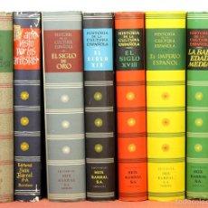 Libros de segunda mano: 7830 - EDITORIAL SEIX BARRAL. 8 TOMOS(VER DESCRIP). VV. AA. 1951-1957.. Lote 58199018