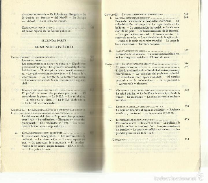 Libros de segunda mano: LA ÉPOCA CONTEMPORÁNEA. EDICIONES DESTINO. BARCELONA. 1961 - Foto 7 - 58293382
