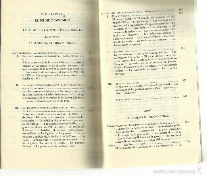 Libros de segunda mano: LA ÉPOCA CONTEMPORÁNEA. EDICIONES DESTINO. BARCELONA. 1961 - Foto 8 - 58293382