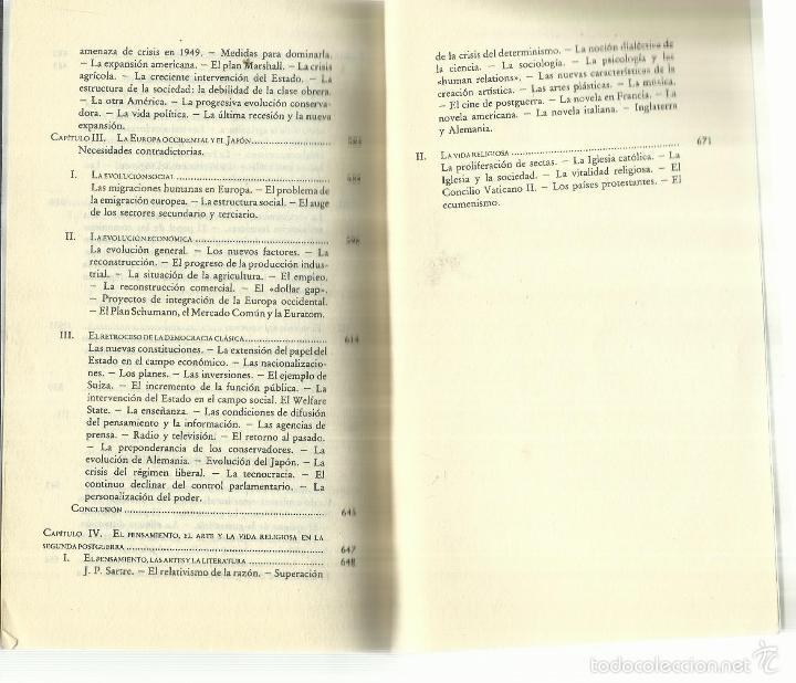 Libros de segunda mano: LA ÉPOCA CONTEMPORÁNEA. EDICIONES DESTINO. BARCELONA. 1961 - Foto 9 - 58293382