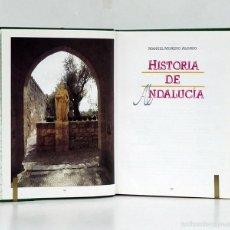 Libros de segunda mano: MORENO ALONSO (MANUEL). HISTORIA DE ANDALUCÍA [3 TOMOS]. 1080 PÁGS. ILUSTRACIONES EN COLOR. Lote 58295013