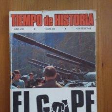 Libros de segunda mano: TIEMPO DE HISTORIA Nº 89. EL GOLPE. Lote 58561730