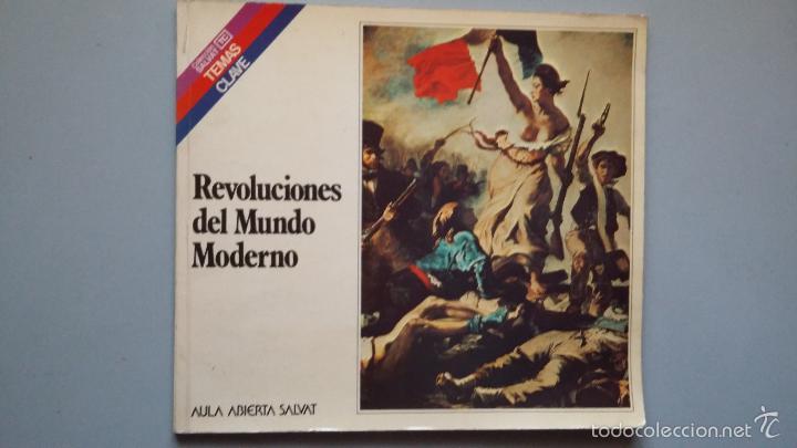 REVOLUCIONES DEL MUNDO MODERNO. AULA ABIERTA SALVAT (Libros de Segunda Mano - Historia Moderna)