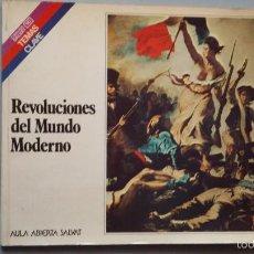 Libros de segunda mano: REVOLUCIONES DEL MUNDO MODERNO. AULA ABIERTA SALVAT. Lote 58913985