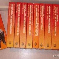 Libros de segunda mano: VV. AA. TESTIMONIO DE LA ESPAÑA DE NUESTRO TIEMPO. TRECE TOMOS. RMT76330. . Lote 60506263
