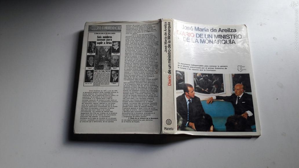 Libros de segunda mano: DIARIO DE UN MINISTRO DE LA MONARQUIA...JOSE MARIA DE AREILZA..1977. - Foto 3 - 60841233
