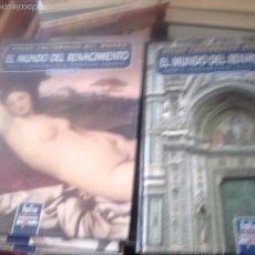 Libros de segunda mano: ATLAS GEOGRÁFICO HISTÓRICO DEL MUNDO. 2 VOLS. EL MUNDO DEL RENACIMIENTO. Lote 63164308