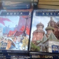 Libros de segunda mano: ATLAS GEOGRÁFICO HISTÓRICO DEL MUNDO. 2 VOLS. RUSIA. Lote 63164416