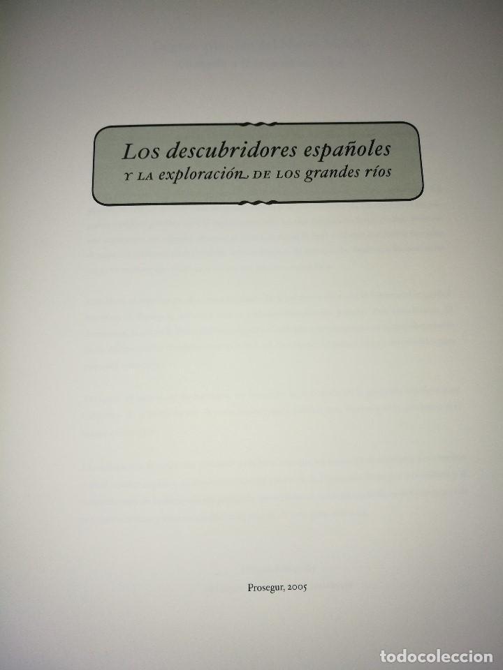 Libros de segunda mano: Los descubridores españoles y la exploración de los grandes ríos - Foto 2 - 63399208