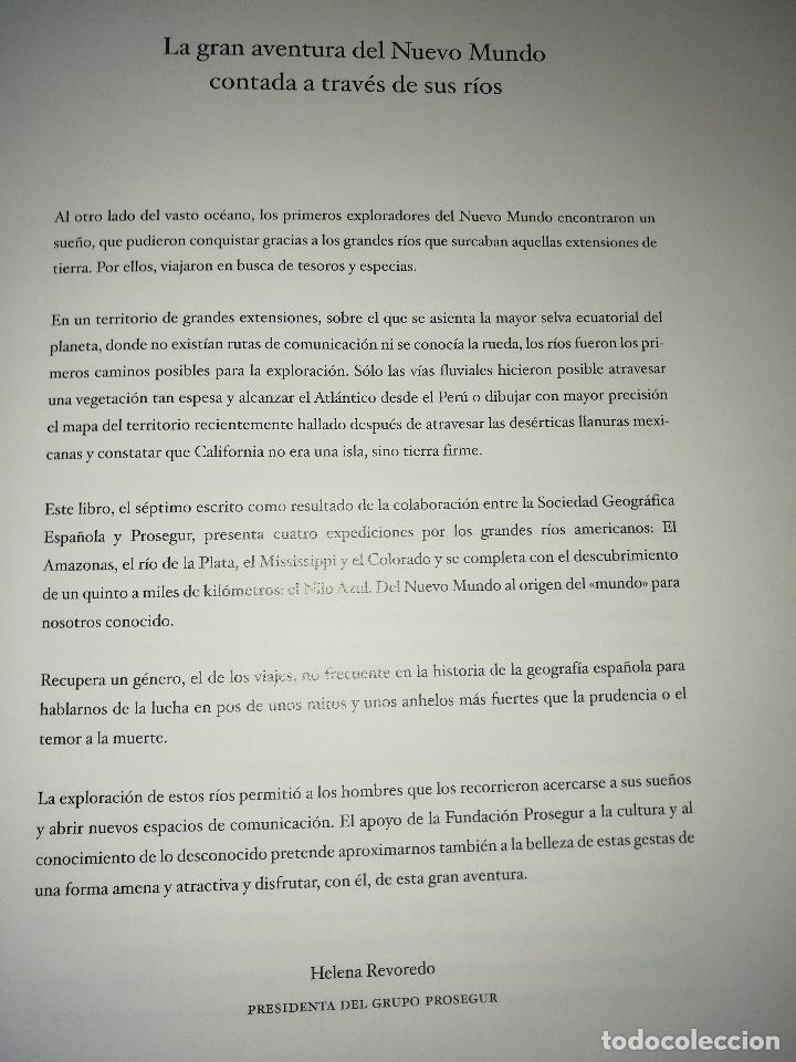 Libros de segunda mano: Los descubridores españoles y la exploración de los grandes ríos - Foto 5 - 63399208