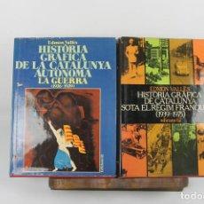 Libros de segunda mano: 4921- HISTORIA GRAFICA DE CATALUNYA. EDMON VALLES. EDICIONS 62. 1975. 4 VOL.. Lote 43989960