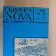 Libros de segunda mano: CHRONICA NOVA. REVISTA DE HISTORIA MODERNA DE LA UNIVERSIDAD DE GRANADA, Nº15. 1986-87. Lote 64758003