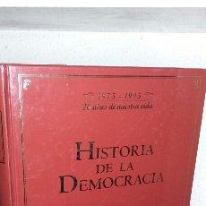 Libros de segunda mano: HISTORIA DE LA DEMOCRACIA SM05. Lote 64940345