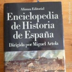 Libros de segunda mano: ENCICLOPEDIA DE HISTORIA DE ESPAÑA. MIGUEL ARTOLA. DICCIONARIO TEMATICO VOL 5 ALIANZA EDITORIAL. Lote 65933118