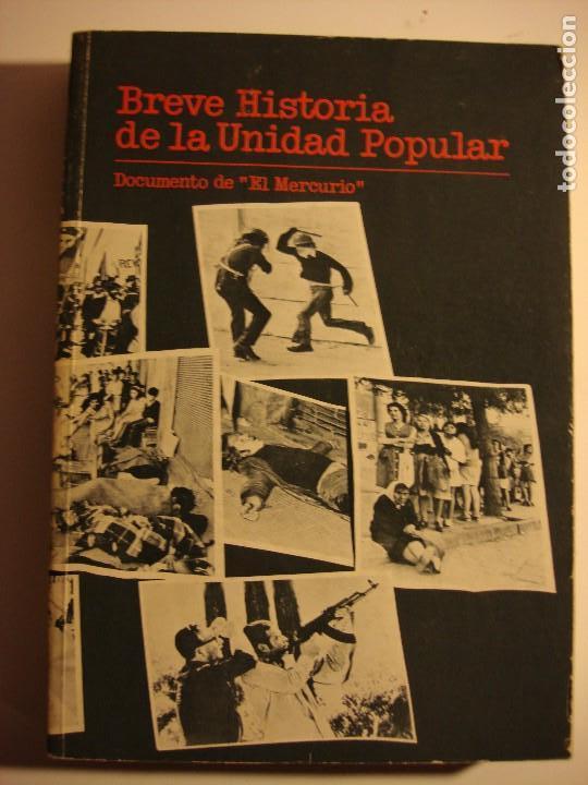 Breve Historia De La Unidad Popular El Mercur Comprar Libros De