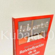 Libros de segunda mano: REIVINDICACION DE LA ILUSTRACION · STEPHEN BRONNER · HACIA UNA POLITICA DE COMPROMISO RADICAL. Lote 67496749